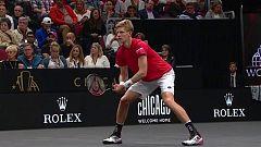 Tenis - Laver Cup 2018. 7º partido individual: N. Djokovic - K. Anderson