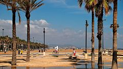 La semana comenzará con calor en el suroeste, la costa mediterránea y Canarias