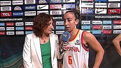 Baloncesto - Campeonato del Mundo Femenino 2018. Postpartido España - Puerto Rico