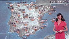 La jornada del lunes traerá inestabilidad en el norte y noroeste, sobre todo en Galicia, con precipitaciones y vientos