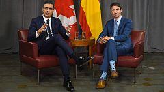 Sánchez apuesta por la vía política para solucionar el conflicto en Cataluña y pone de ejemplo a Quebec