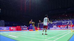 Badminton - 'Open de China 2018' Final Masculina: Ginting - Momota