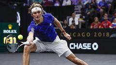 Tenis - Laver Cup 2018. Último partido individual: Zverev - Anderson