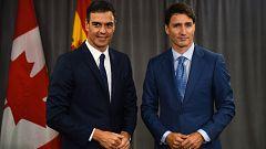 """Sánchez señala la """"lección"""" de Quebec como ejemplo para solucionar """"crisis políticas"""""""