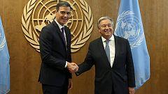 """Sánchez defiende el multilateralismo como """"única vía"""" para hacer frente a los retos globales"""