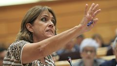 Bronca en el Senado entre la ministra de Justicia y el PP, que pide su dimisión