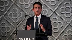 Manuel Valls se presentará a las municipales de 2019 como candidato a la alcaldía de Barcelona
