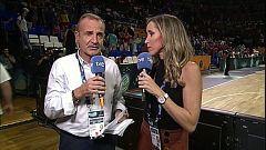Baloncesto - Campeonato del Mundo Femenino 2018 Postpartido España - Bélgica