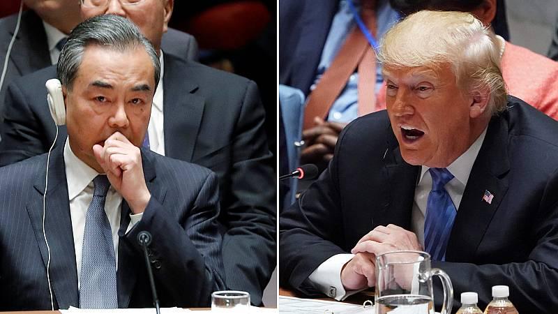 Trump acusa a China de intentar interferir en las legislativas de noviembre
