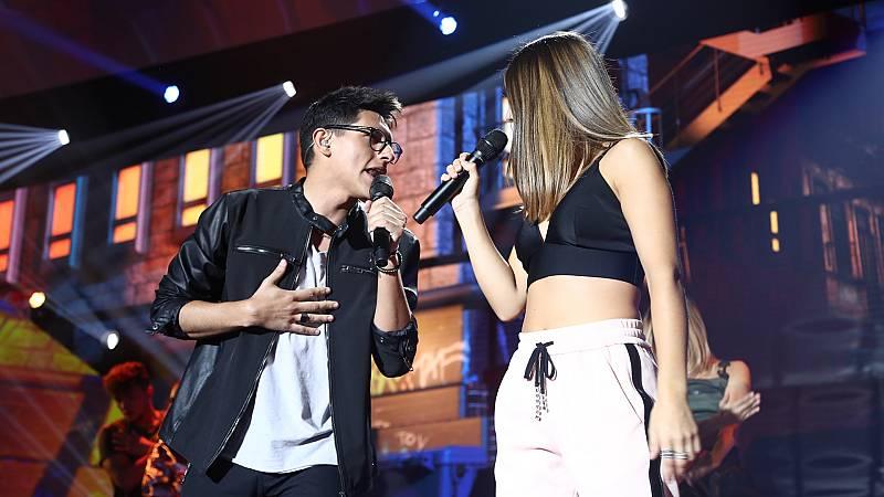 OT 2018 - Alfonso y Sabela cantan 'Échame la Culpa' en la Gala 1