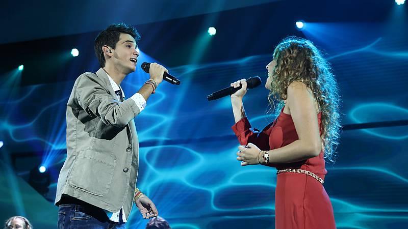 OT 2018 - Marilia y Dave cantan 'Alfonsina y el mar' en la Gala 1