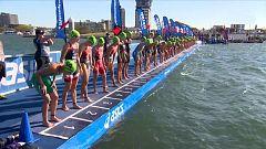 Triatlón - ITU World Series. Prueba Gold Coast (Australia). Resumen