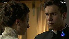Acacias 38 - Telmo intenta convencer a Lucía de la maldad de Samuel
