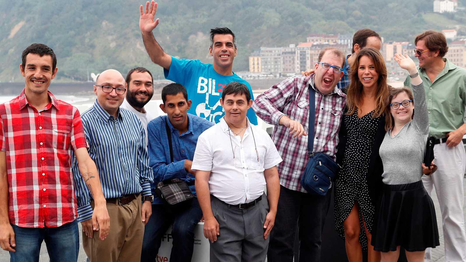 El equipo de 'Campeones' presenta en San Sebastián un documental sobre sus protagonistas