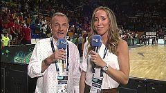 Baloncesto - Campeonato del Mundo Femenino 2018 Postpartido Canadá - España