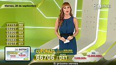 Sorteo ONCE - 28/09/18
