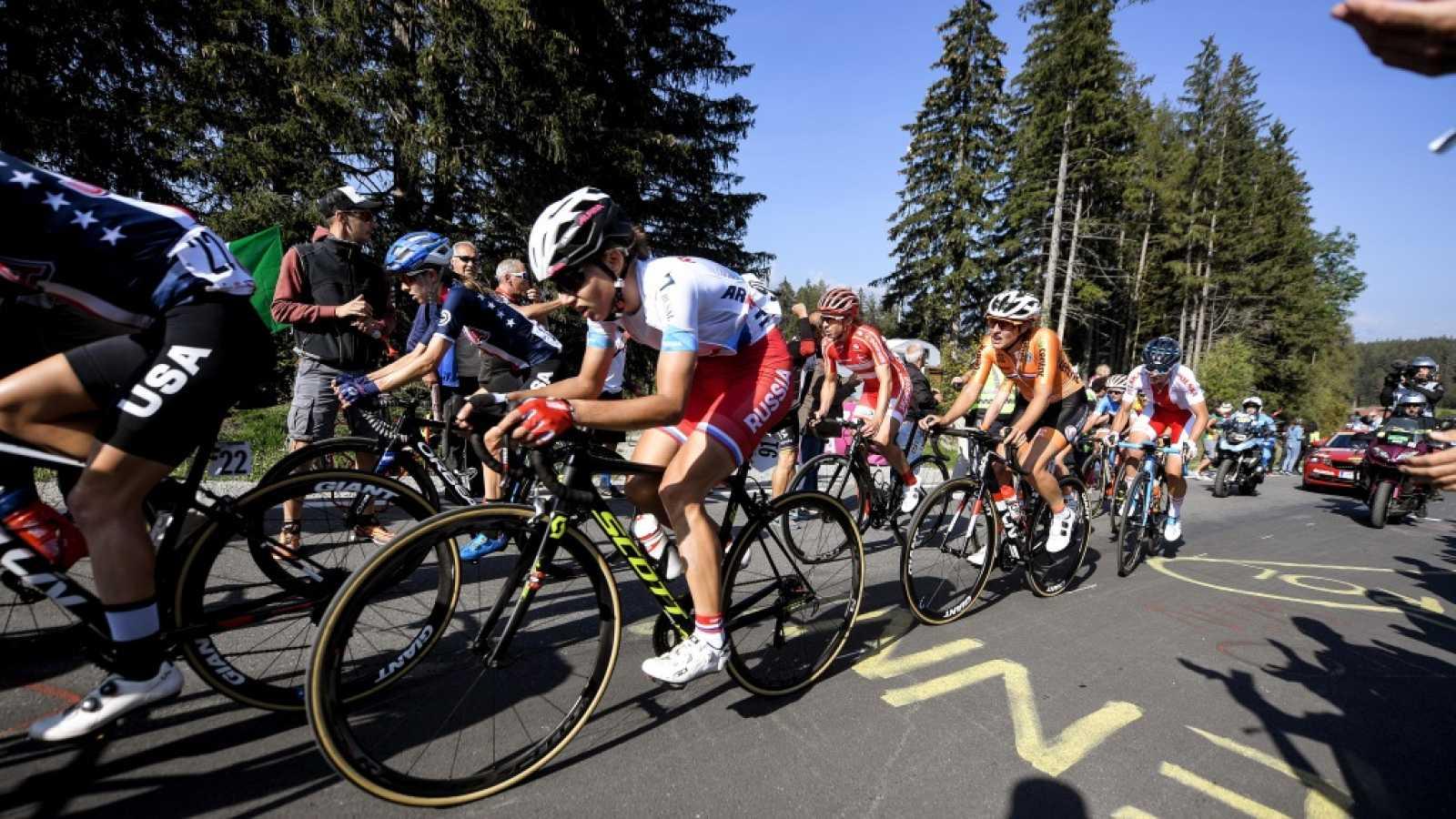 Ciclismo - Campeonato del Mundo en Ruta. Prueba Ruta Élite Femenina, desde Innsbruck (Austria)