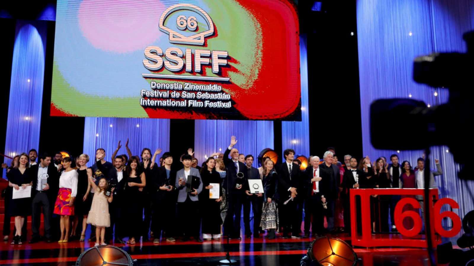 Festival de cine de San Sebastián 2018: Gala de clausura -  ver ahora