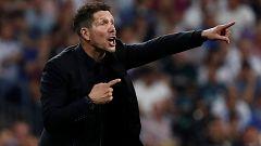 """Simeone: """"Una pena, queríamos ganar"""""""