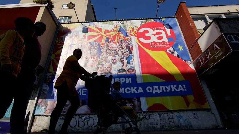 La Antigua República Yugoslava de Macedonia vota si acepta cambiar su nombre a República de Macedonia del Norte
