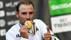 Alejandro Valverde logra por fin el Mundial de ciclismo