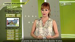 Sorteo ONCE - 30/09/18