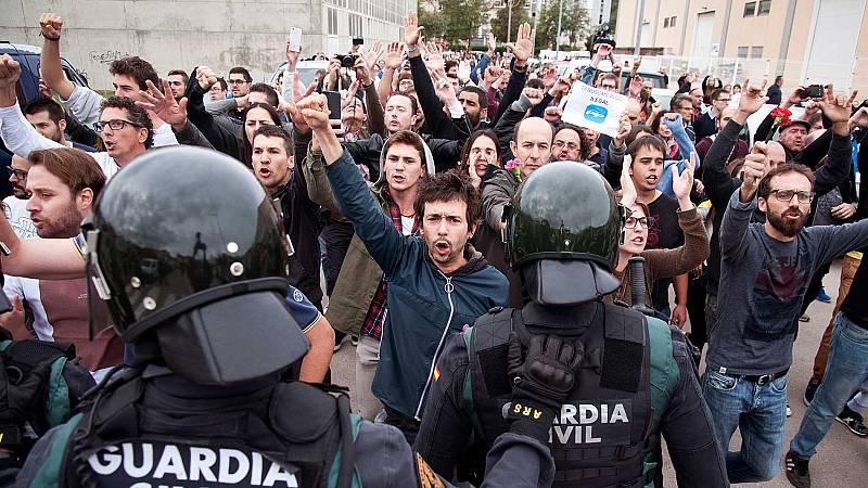 La fractura en la sociedad catalana se mantiene un año después del 1-O