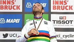 Alejandro Valverde pone el broche de oro a su larguísima carrera