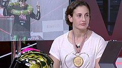 "Ana Carrasco en 24H: ""Con trabajo todo acaba llegando"""
