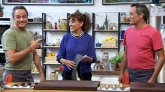 Torres en la cocina - Espinacas con manzana y tortilla a la carbonara