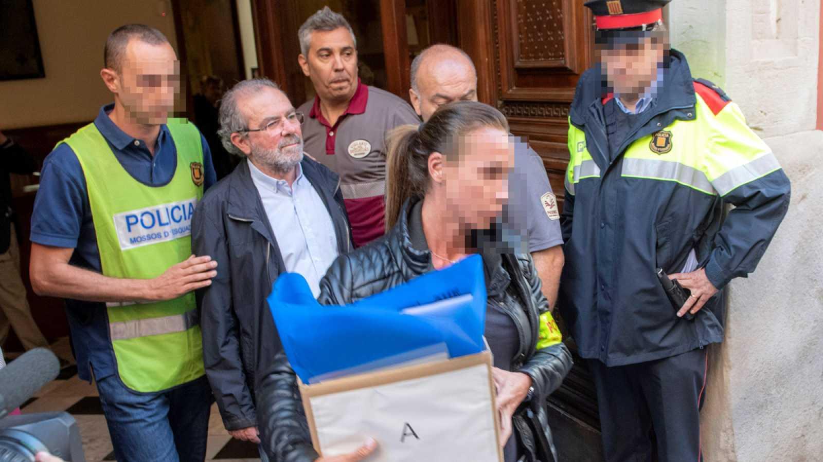 Detenido el presidente de la Diputación de Lleida en una operación contra la corrupción de CDC
