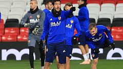 El Valencia se encuentra preparado para asaltar Old Trafford