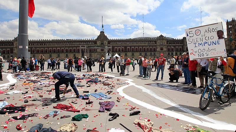La matanza de Tlatelolco cumple 50 años