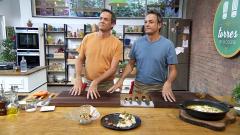 Torres en la cocina - Rape en pepitoria y uvas con yogur casero