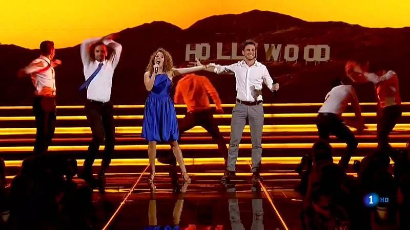 """OT 2018 - Marilia y Joan cantan """"Another day of sun"""" en la Gala 2 de Operación Triunfo"""