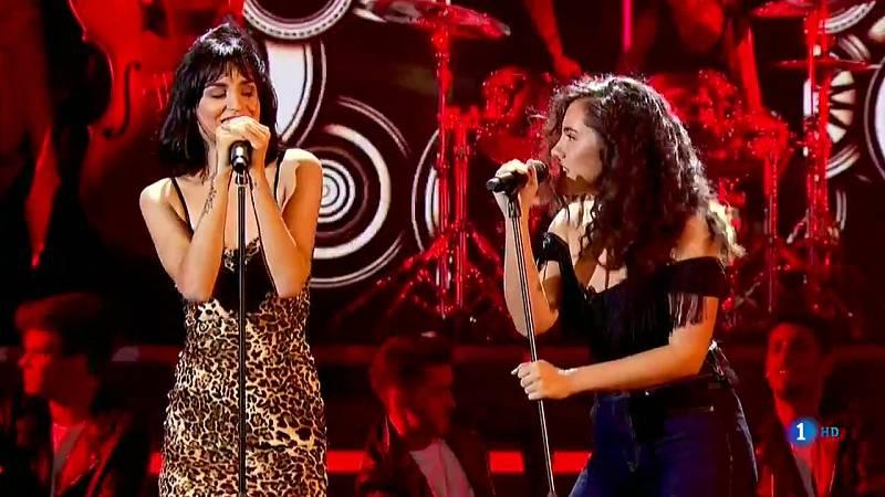 """OT 2018 - Natalia y Marta cantan """"Tainted love"""" en la gala 2 de Operación Triunfo"""