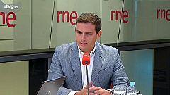 """Las mañanas de RNE: Albert Rivera: """"Estamos en manos de Torra. Sánchez ha entregado España a Torra"""""""