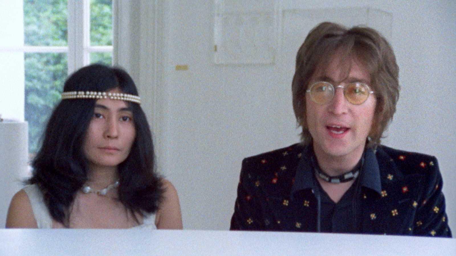 Vídeo de 'Imagine', de John Lennon, con imágenes inéditas