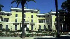 Si las piedras hablaran - Palacio Real de Pedralbes. Puerto y puerta de España