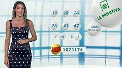 Lotería Nacional + La Primitiva + Bonoloto - 04/10/18