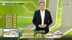 Sorteo ONCE - 05/10/18