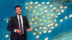 Bajada de las temperaturas y lluvia en el Cantábrico, Pirineos y Cataluña