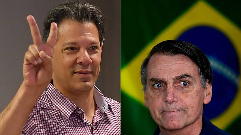 Bolsonaro y Haddad se medirán en segunda vuelta