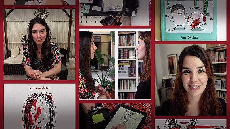 Millennial Files - Programa 3 - Ilustradoras: Lola Vendetta y Ana Oncina