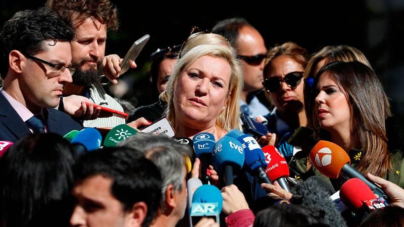 """Inés Madrigal, bebé robada, con una sensación """"agridulce"""" tras la sentencia que absuelve al doctor Vela"""