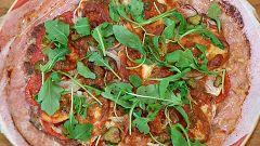 Torres en la cocina - Pizzahamburguesa