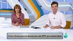 Cómo pedir la devolución del IRPF por maternidad.