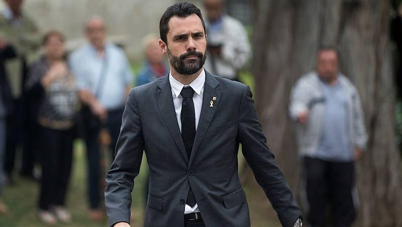Ruptura en el soberanismo: ERC se alía con el PSC y tumba el voto delegado de JxCat