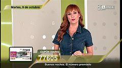 Sorteo ONCE - 09/10/18