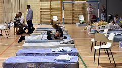 Manacor aloja en su polideportivo a decenas de afectados por las inundaciones en Mallorca